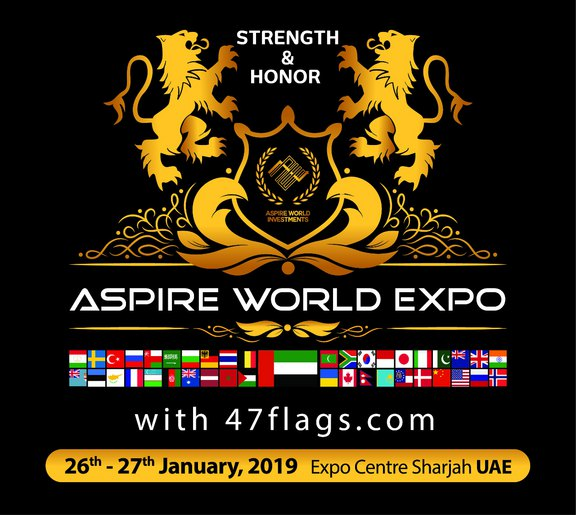 Aspire World Investment Expo logo